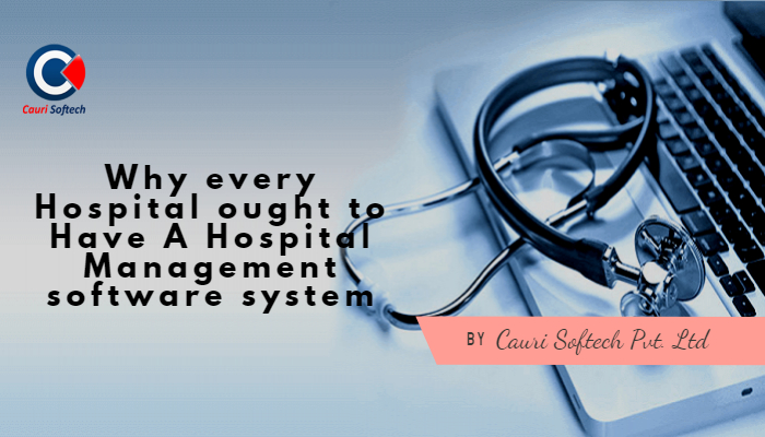 Hospital Management software system by Cauri Softech