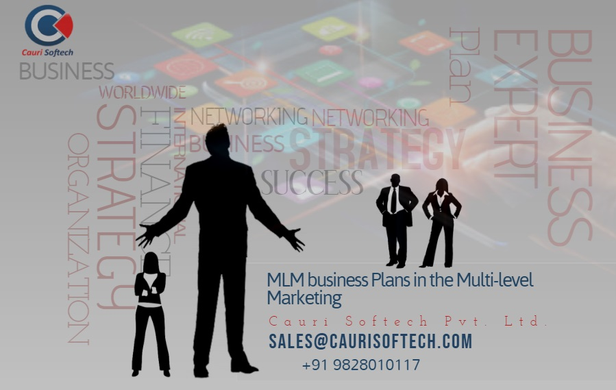 MLM business plans in the multi-level marketing BY CAURI SOFTECH Pvt. Ltd.